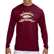 Cross-Sticks - N3165 A4 Long-Sleeve Cooling Performance Crew Neck T-Shirt